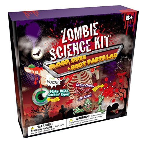 Zombie Science Kit: Blood, Guts & Body Parts FX Lab