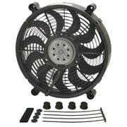 DERALE 14 in 2100 CFM HO RAD Electric Cooling Fan P/N 18214
