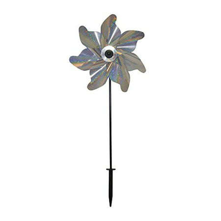 In the Breeze Silver Sparkle Pinwheel Spinner, - Paper Pinwheel