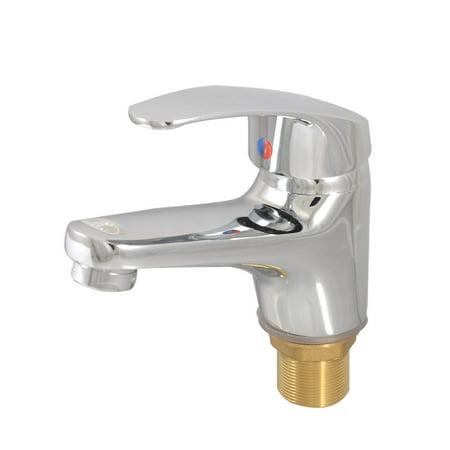 Unique bargains kitchen brass lever handle double hole - Kitchen sink water hose ...