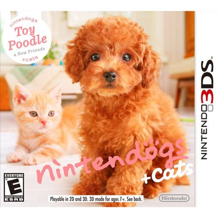 Nintendogs + Cats: Toy Poodle (Nintendo 3DS)