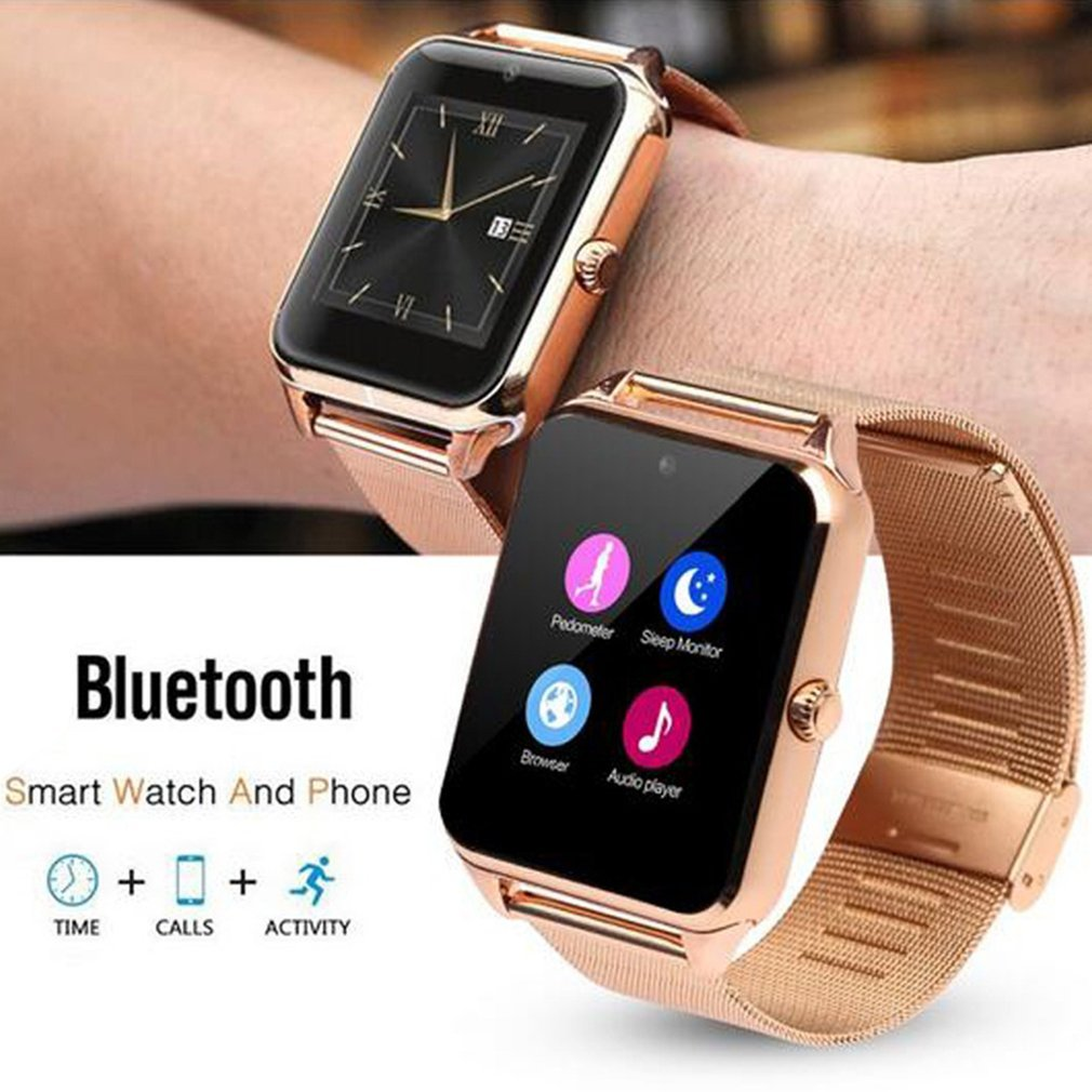 Z60 1.54 Inch Display Bluetooth Smart Watch With Camera Support SIM TF Card