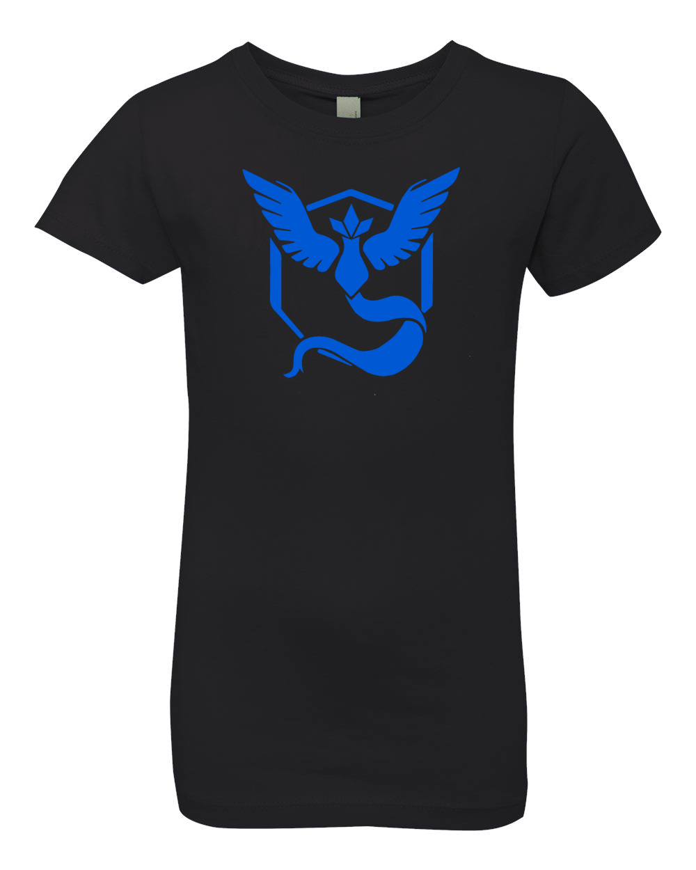 Pokemon Go Gym Team Mystic Blue Youth Girls Princess Tee T-Shirt Top