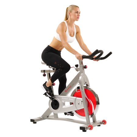 Sunny Health & Fitness SF-B901B Indoor Cycling Exercise Bike with 40 lb. Flywheel