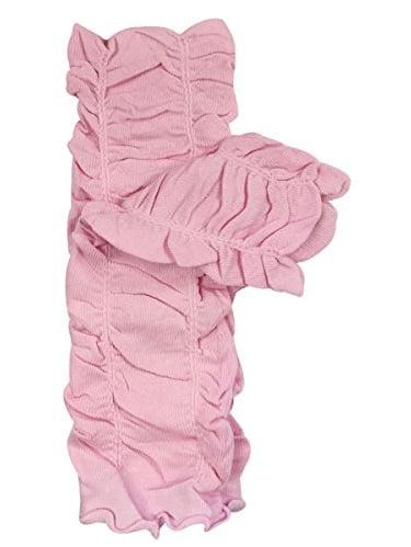 ALLYDREW Solid Baby Leg Warmer & Solid Toddler Leg Warmer for Boys & Girls, Scrunch Light Pink