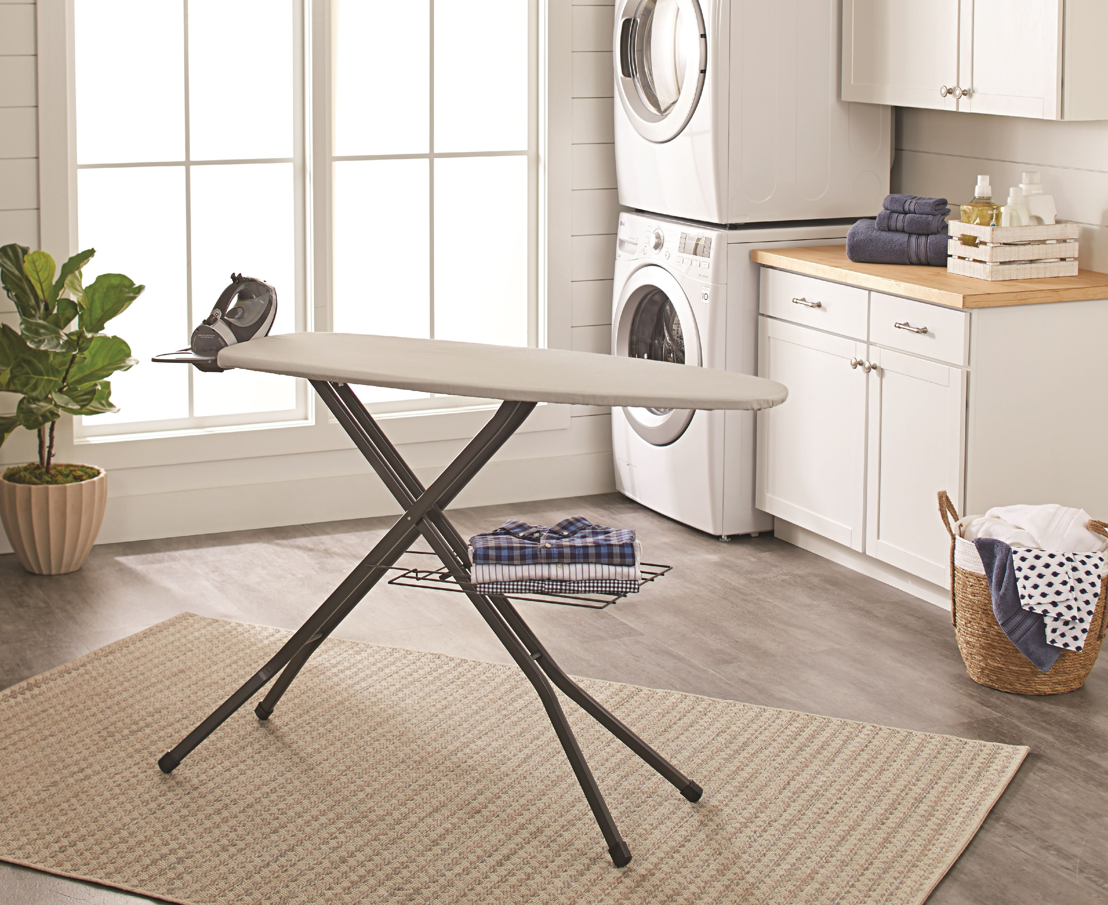 Better Homes & Gardens Wide Top Ironing Board Grey Pumice by Better Homes & Gardens