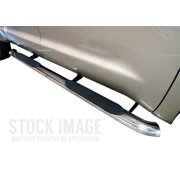 Steelcraft 402238P 4 in. Premium Oval Side Bar; All Stainless Steel; Rocker Mount;