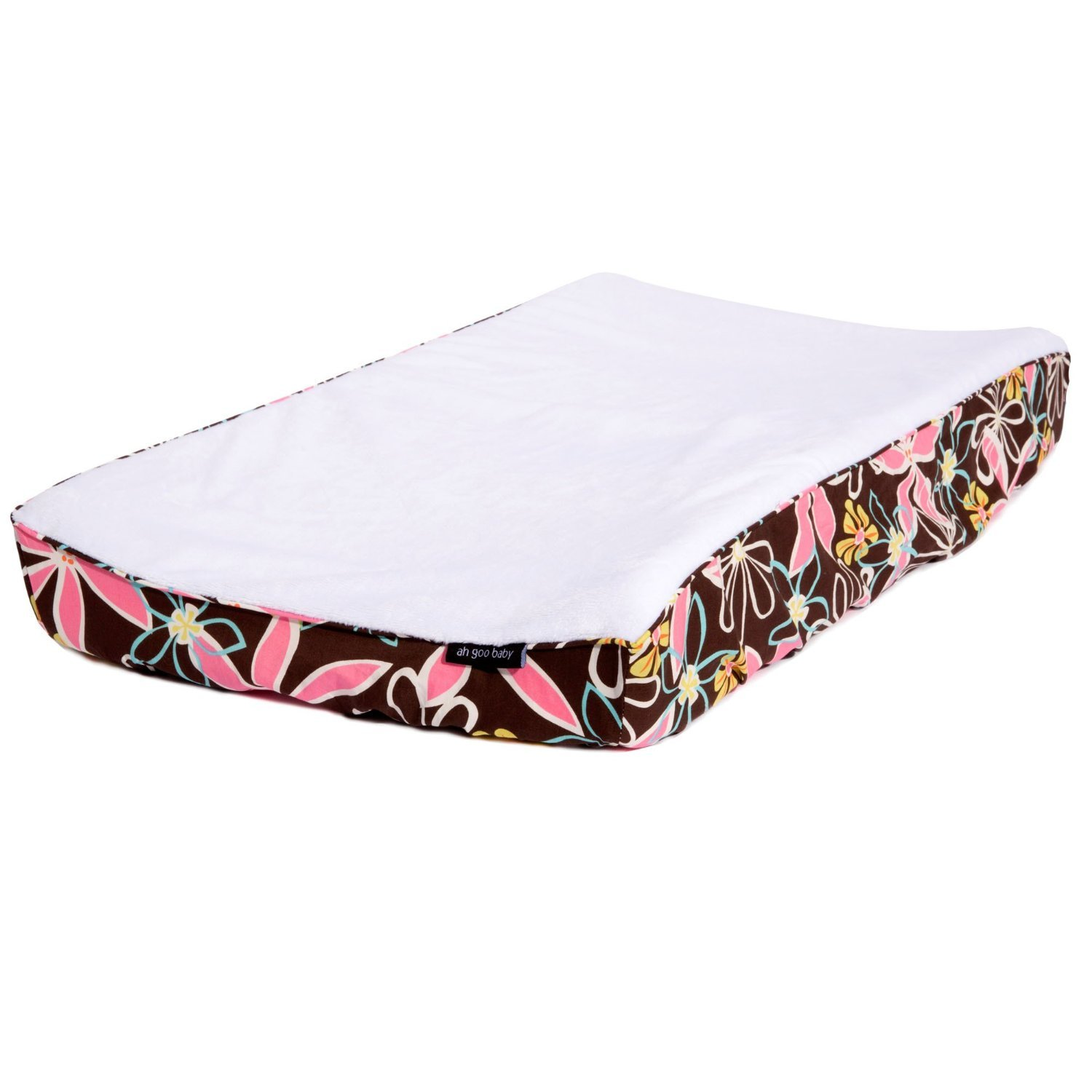 Ah Goo Baby 100% Cotton Changing Pad Cover - Retro Daisy