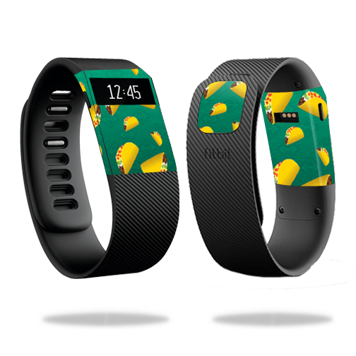 Skin Decal Wrap for Fitbit Charge cover skins sticker watch Tacos