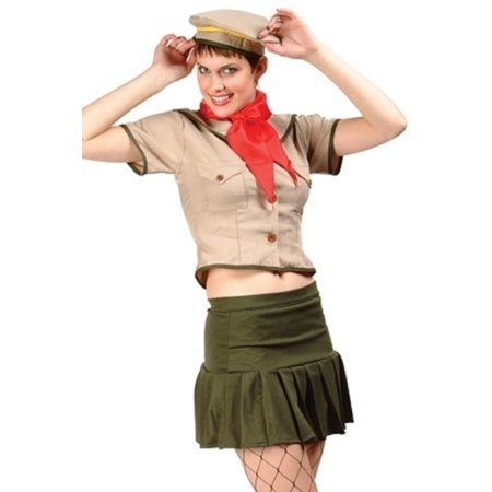 Olive Sexy Girl Scout Costume RG Costumes 81514 Olive - Girlscout Costume