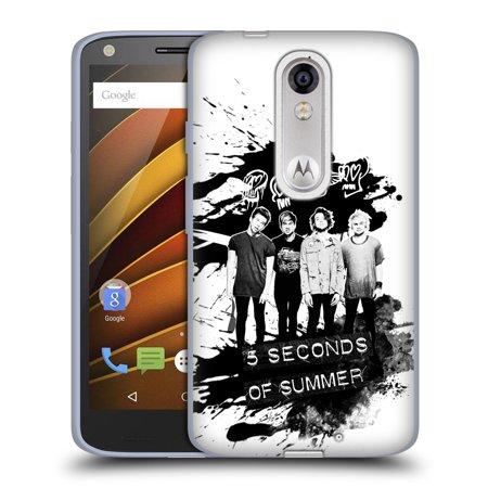 Official 5 Seconds Of Summer Group Photo Derp Soft Gel Case For Motorola Phones