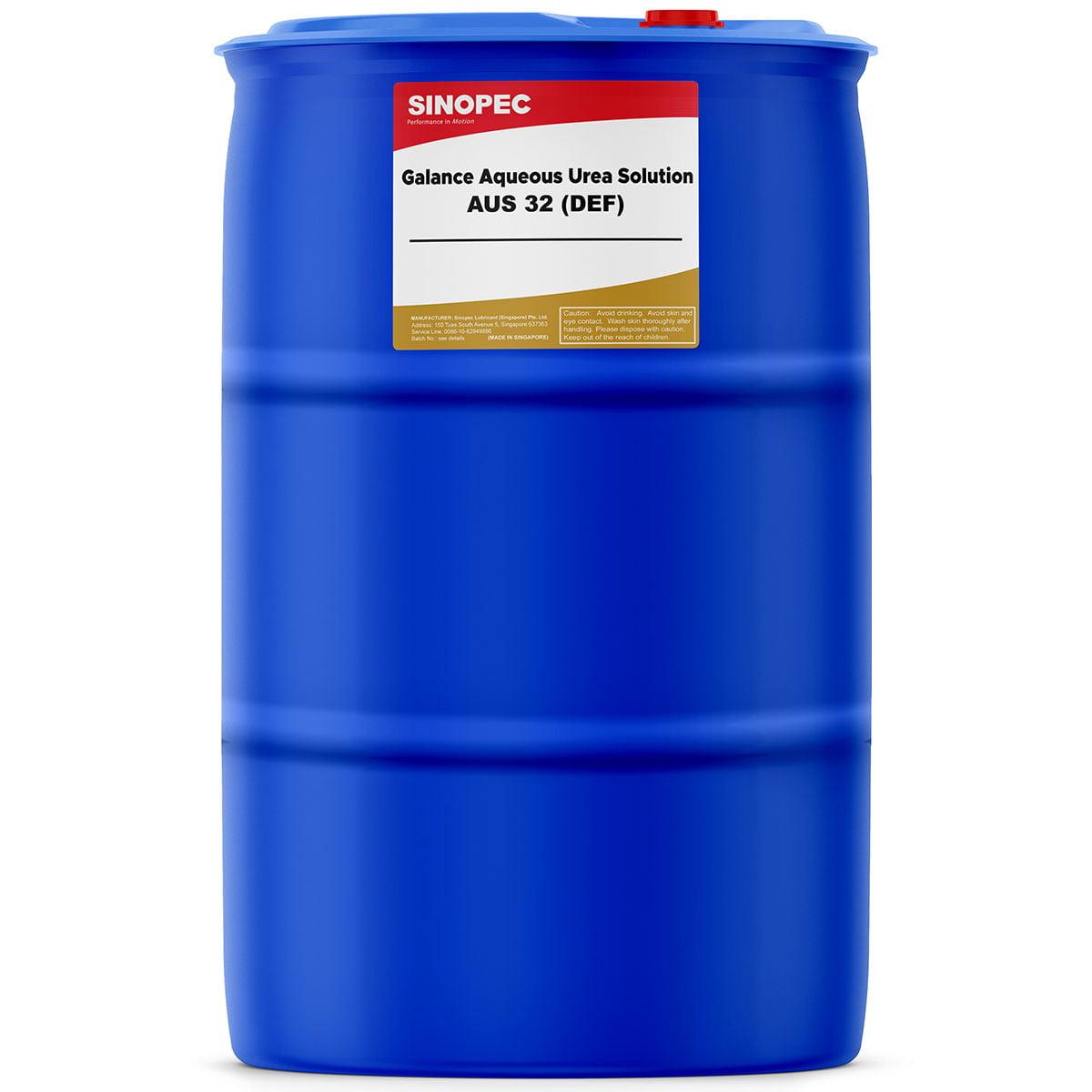 Sinopec DEF Diesel Exhaust Fluid - 55 Gallon Drum