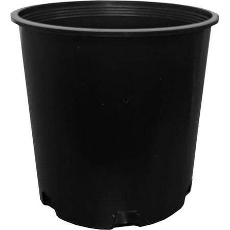 Hydrofarm 2 Gal Premium Poly-Tainer Round Nursery Garden Planter Pot | TR50020 (Garden Nursery)