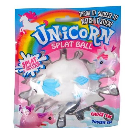 Cp You Get 1 Unicorn Splat Ball Squishy Toy Slime Cool Novelty ( Color Of Unicorn Will Vary ) Pegasus Gift (Best Golf Ball For Slice)