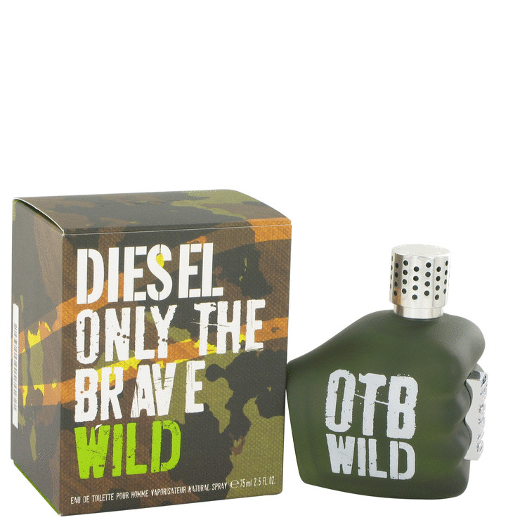Diesel - Only The Brave Wild Eau De Toilette Spray - 2.5 oz