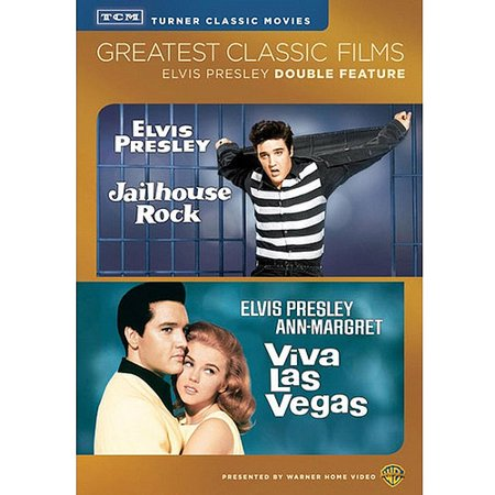 Greatest Classic Films: Elvis Presley Double Feature - Jailhouse Rock / Viva Las Vegas (Deluxe Edition) - Family Fun Halloween Las Vegas