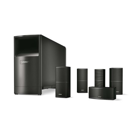 Bose Acoustimass 10 Series V Black Home Theater Speaker
