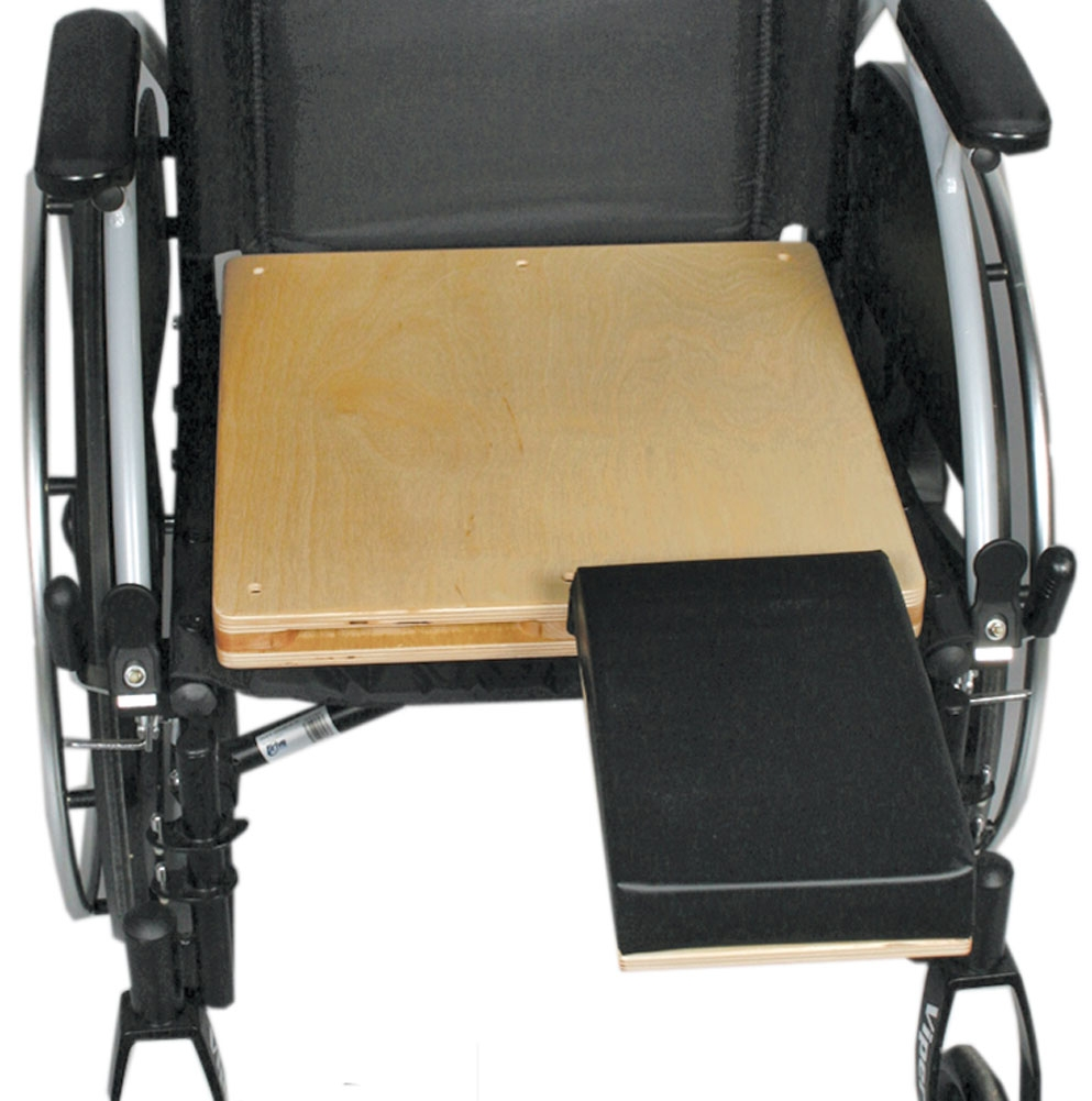 AliMed Unpadded Amputee Wheelchair Seat, 18x16 inches