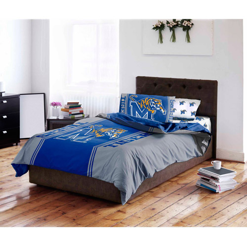 NCAA University of Memphis Tigers Bed in a Bag Complete Bedding Set