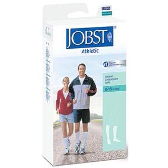 d02b78915c6 SupportWear Men s Athletic Knee-High Mild Compression Socks White ...