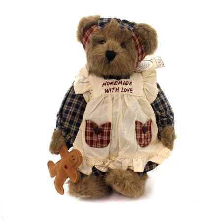Boyds Bears Plush ANNA MAE BAKERS BEAR W/ LIL Exclusive Gingerbread 94182Pp Rfb ()