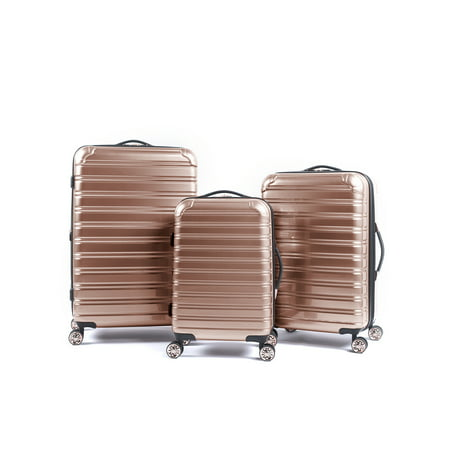 iFLY Hardside Fibertech Luggage, 3 Piece Set