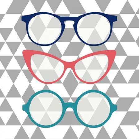 Fashion Glasses Poster Print by Bella Dos Santos