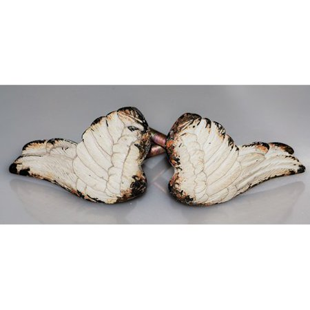 Charleston Knob Company Handpainted Art Deco Angel Wings Novelty Knob (Set of 2) (Novelty Companies)