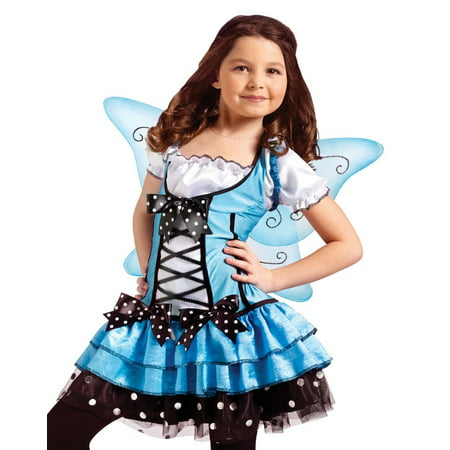 Fun World Girls Blue Fairy Ballerina Princess Halloween - Fun Halloween Costumes For Girls