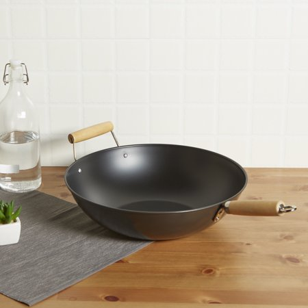 Non Stick Wok Set - Mainstays 13.75