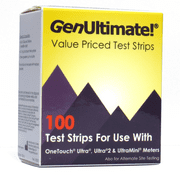 GenUltimate Test Strips - 100ct for use with OneTouch Ultra Meters