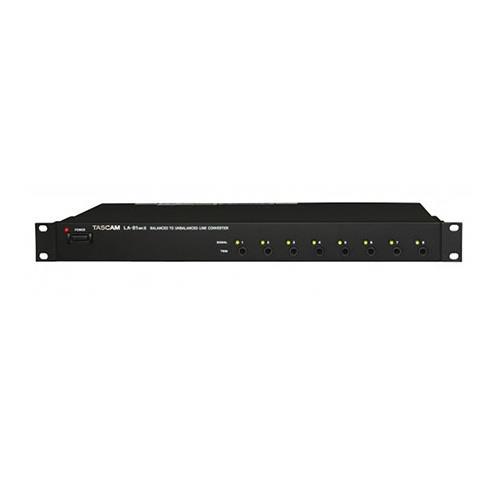 8-Channel Balanced-to-Unbalanced Audio Converter