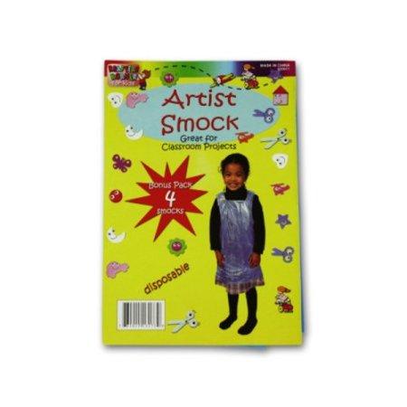 Childrens Vinyl Artist Smock - Disposable Children's Artist Smock