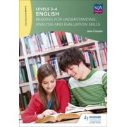 Levels 3-4 English : Reading for Understanding, Analysis and Evaluation Skillslevels 3-4