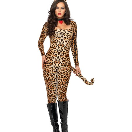 Leg Avenue Cougar Adult Halloween Costume - Easy Homemade Costume For Adults