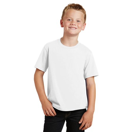 New Cool Boys (Port & Company Boys New Casual 100% Cotton Short Sleeve)