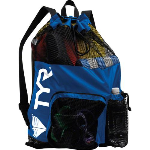 TYR Big Mesh Mummy Bag / Backpack: Royal