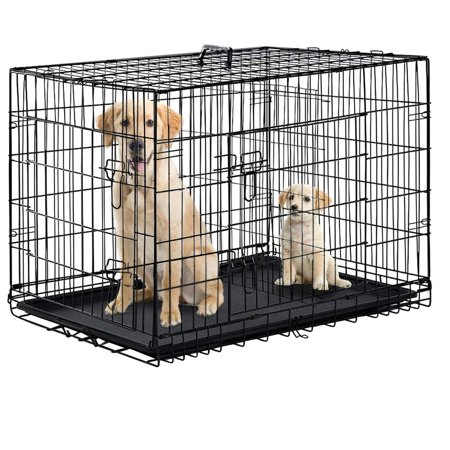 Folding Pet Gate - Folding Black 48