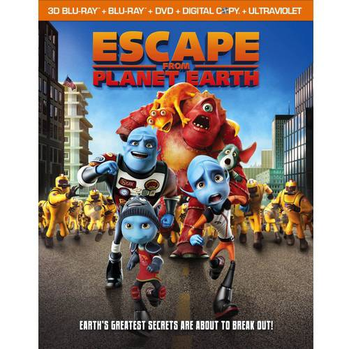Escape From Planet Earth (Blu-ray) (With INSTAWATCH) (Widescreen)
