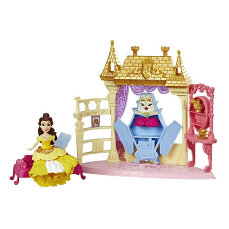 Disney Princess Royal Chambers Playset and Belle Doll - Disney Princess Bella