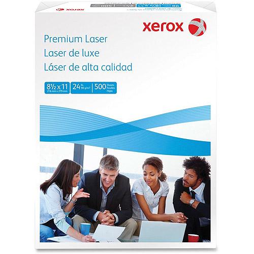 Xerox Premium Bright White 24 lb Laser Paper