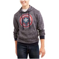Marvel Captain America Men's Sweater Fleece Jacket