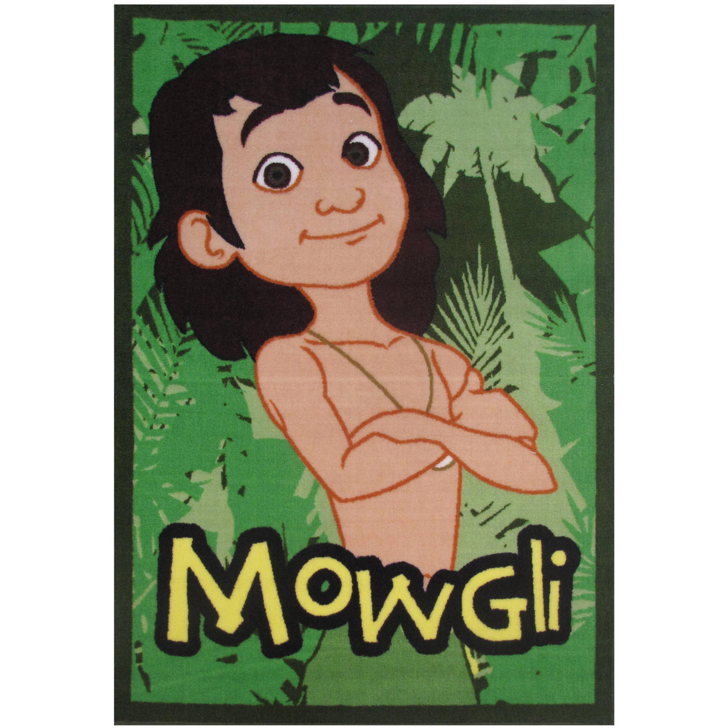 Fun Rugs Jungle Book Mowgli Kids Rugs