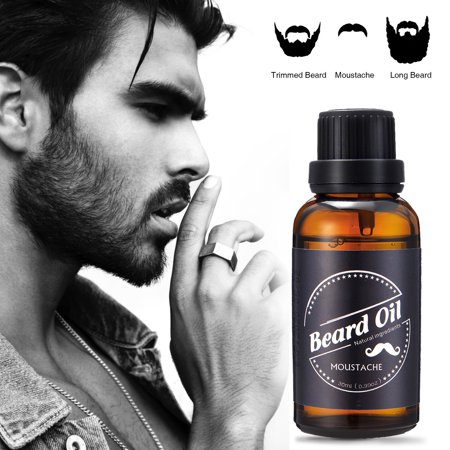 Skymore Beard Care Oil, 100% Pure Blend of Natural Ingredients, Beard Growth & Mustache Care Products, Beard Softener, Beard Care Best Gift for Gentlemen, Father's