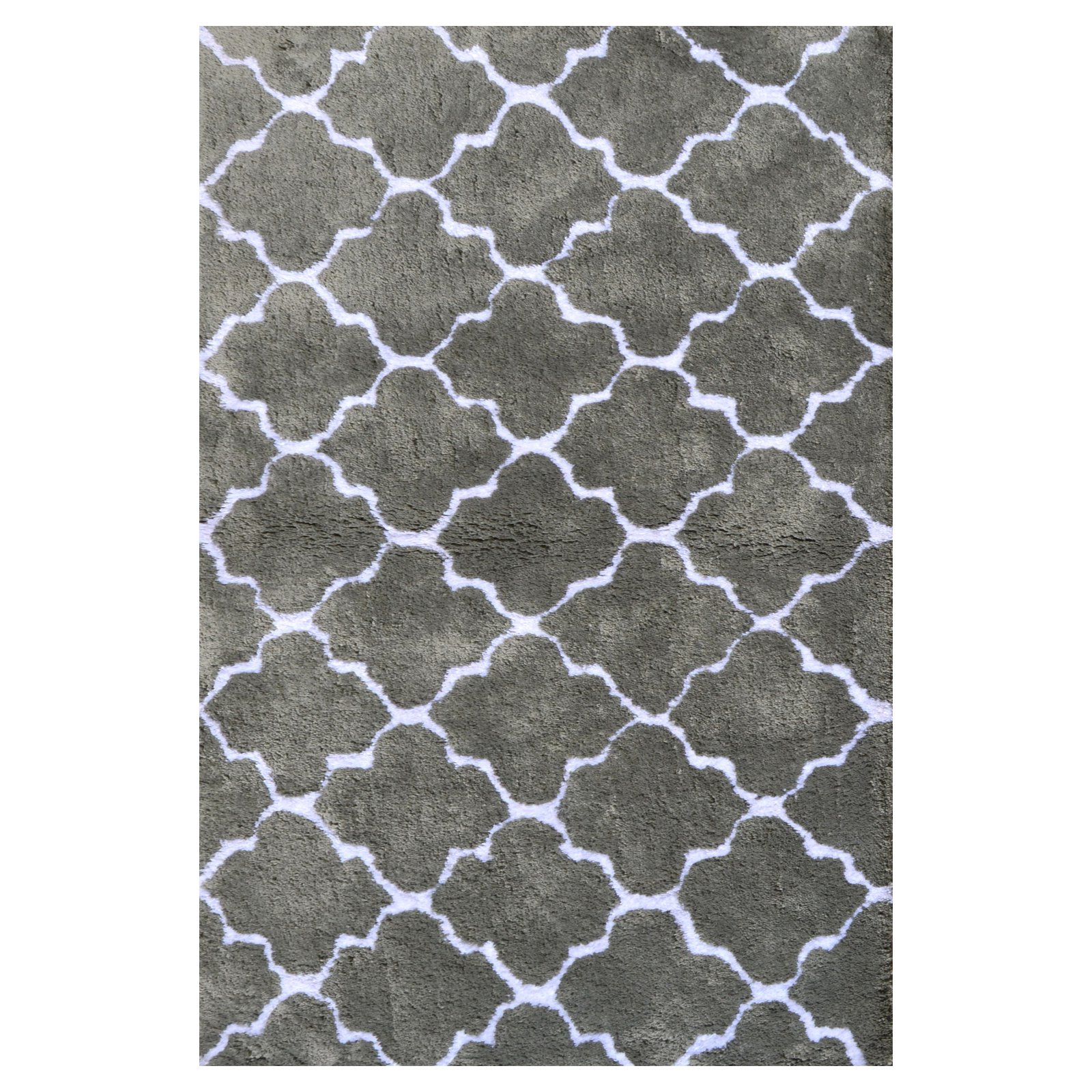 The Rug Market Couture Grey Area Rug, Size 2.8' x 4.8'