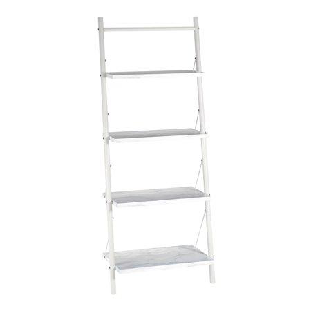 CosmoLiving  by Cosmopolitan Nova 4 Shelf Ladder Bookcase ()