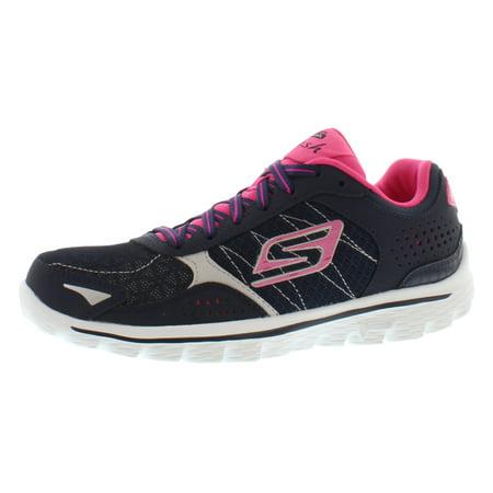 a294f5dfa732 Skechers Go Walk 2 - Flash Running Women s Shoes Size - Walmart ...
