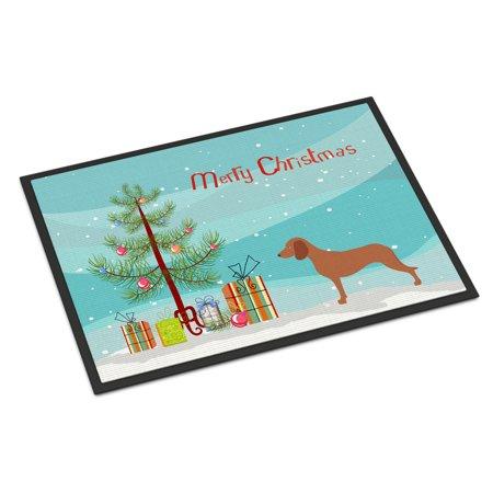 Bavarian Mountian Hound Christmas Door Mat