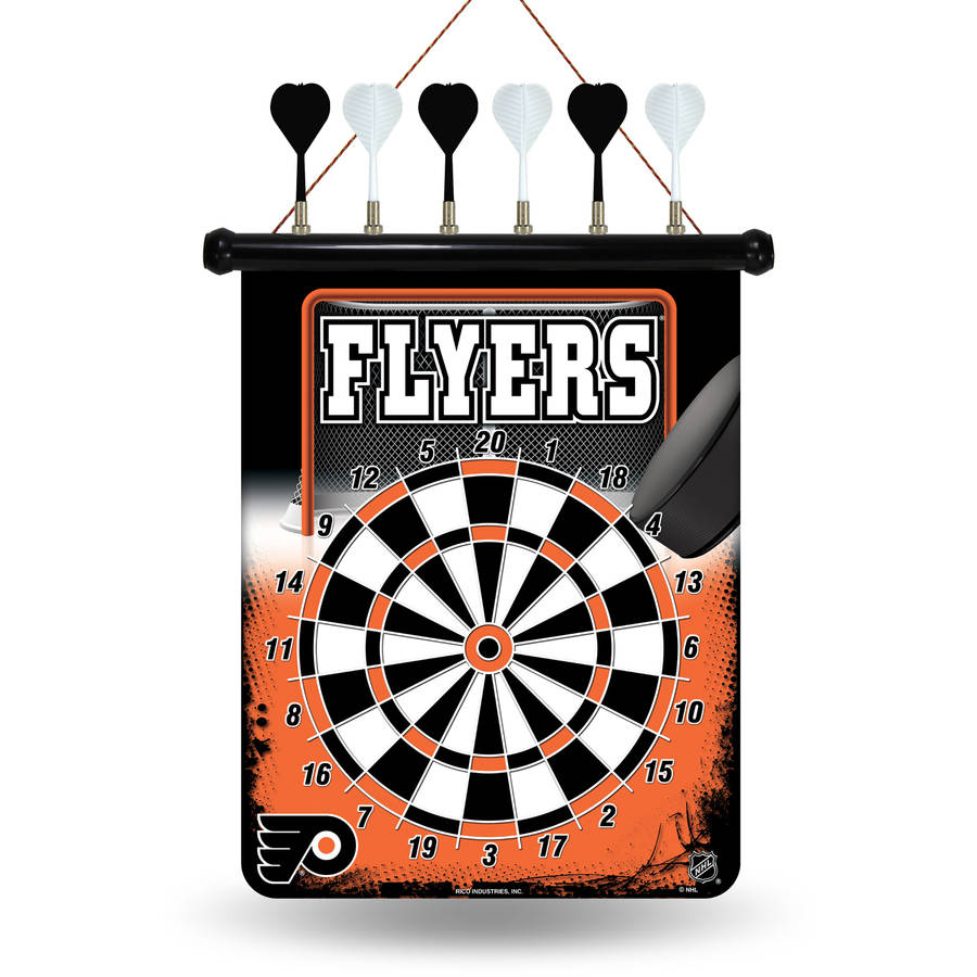 Rico NHL Magnetic Dart Set, Philadelphia Flyers