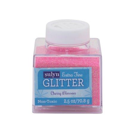 Sulyn Extra Fine Cherry Blossom Glitter, 2.5 Oz. ()